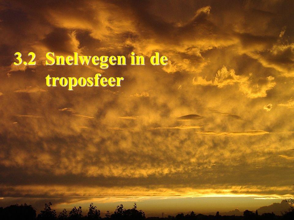 3.2 Snelwegen in de troposfeer