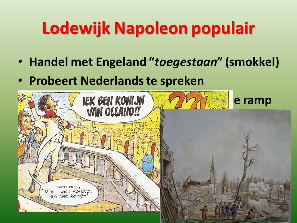 Lodewijk Napoleon populair