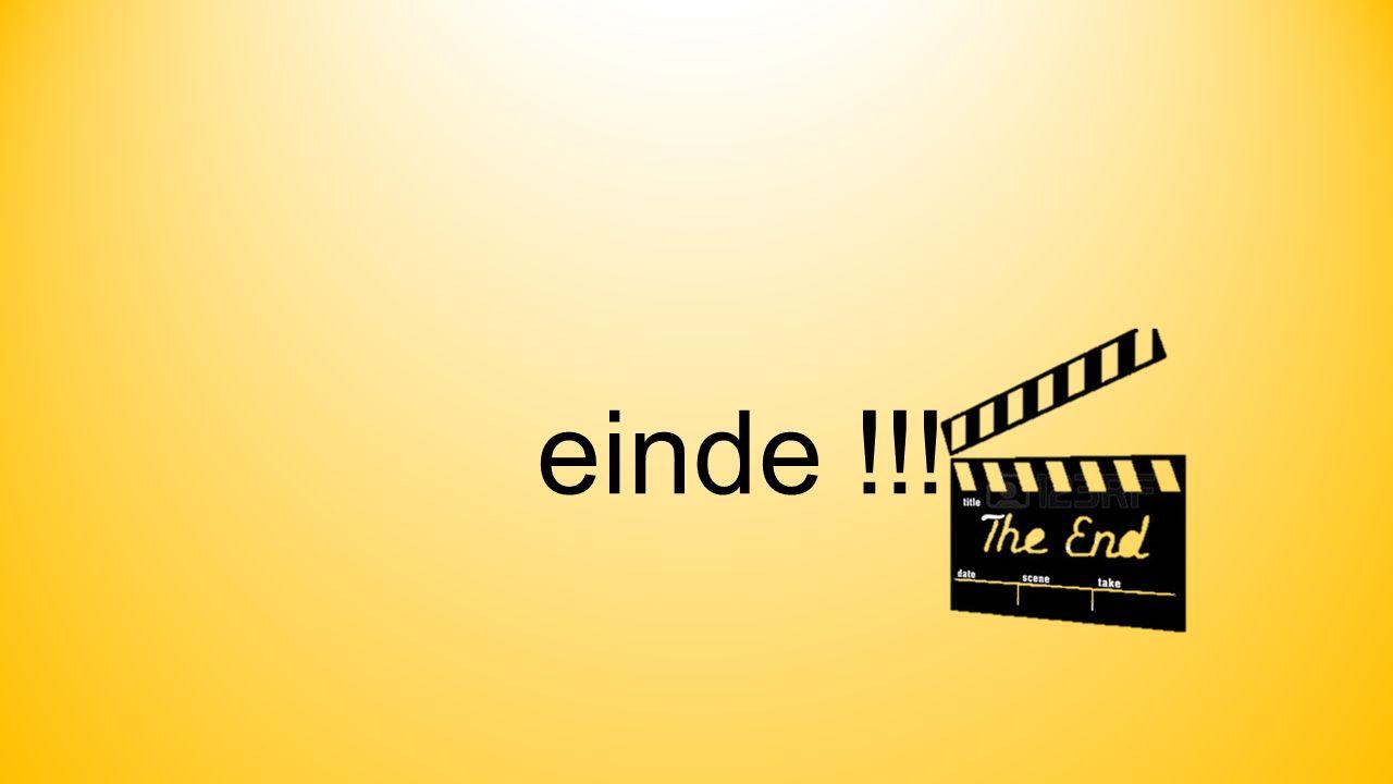 einde !!!