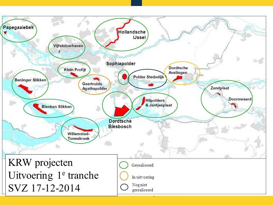 KRW projecten Uitvoering 1e tranche SVZ 17-12-2014 Papegaaiebek