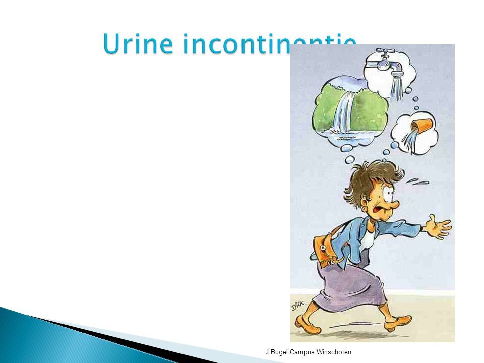 Urine incontinentie J Bugel Campus Winschoten