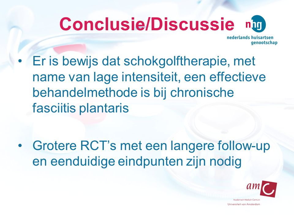 Conclusie/Discussie