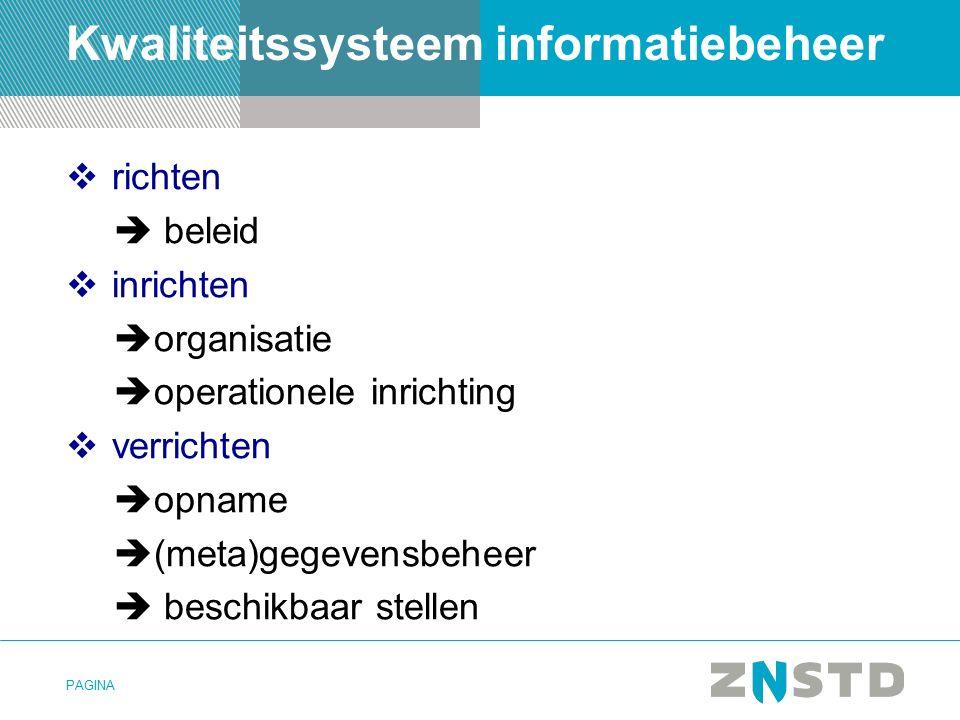 Kwaliteitssysteem informatiebeheer