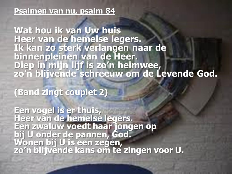 Psalmen van nu, psalm 84