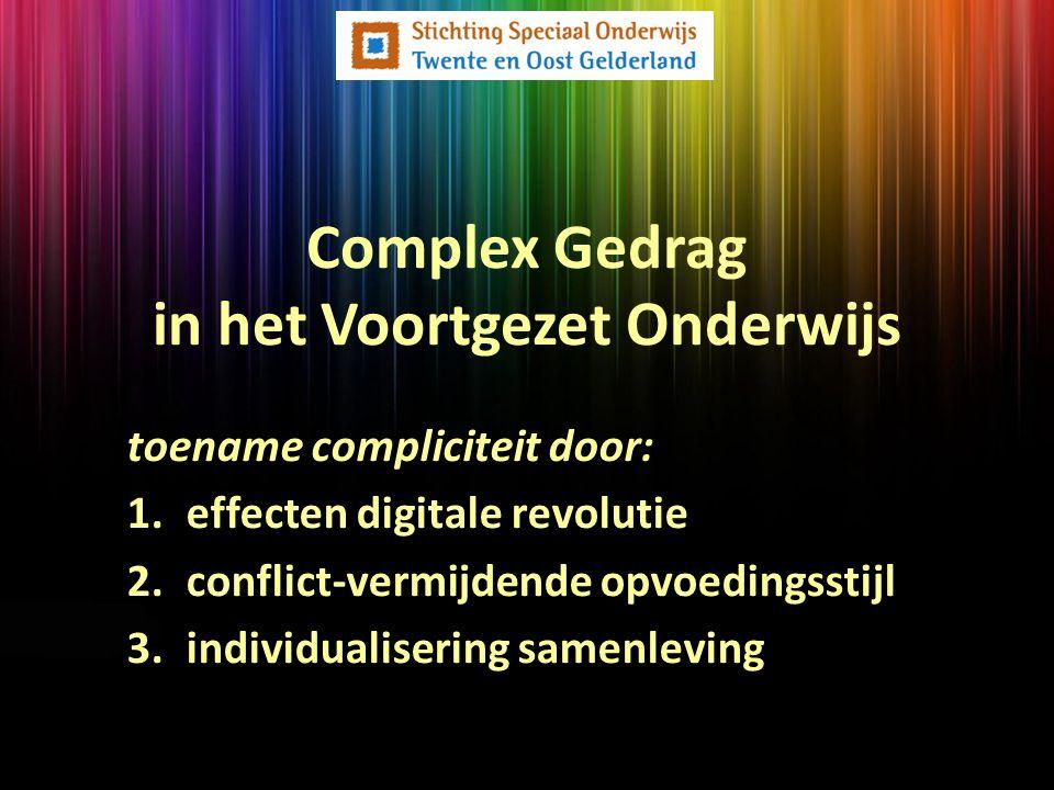 Complex Gedrag in het Voortgezet Onderwijs