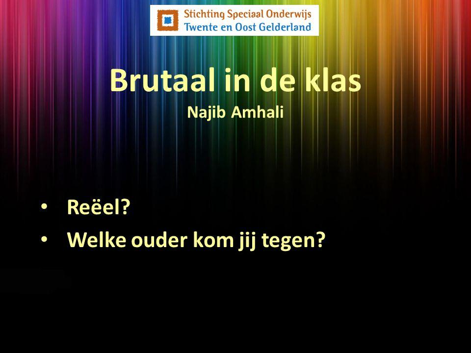 Brutaal in de klas Najib Amhali