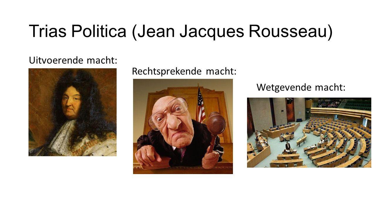 Trias Politica (Jean Jacques Rousseau)