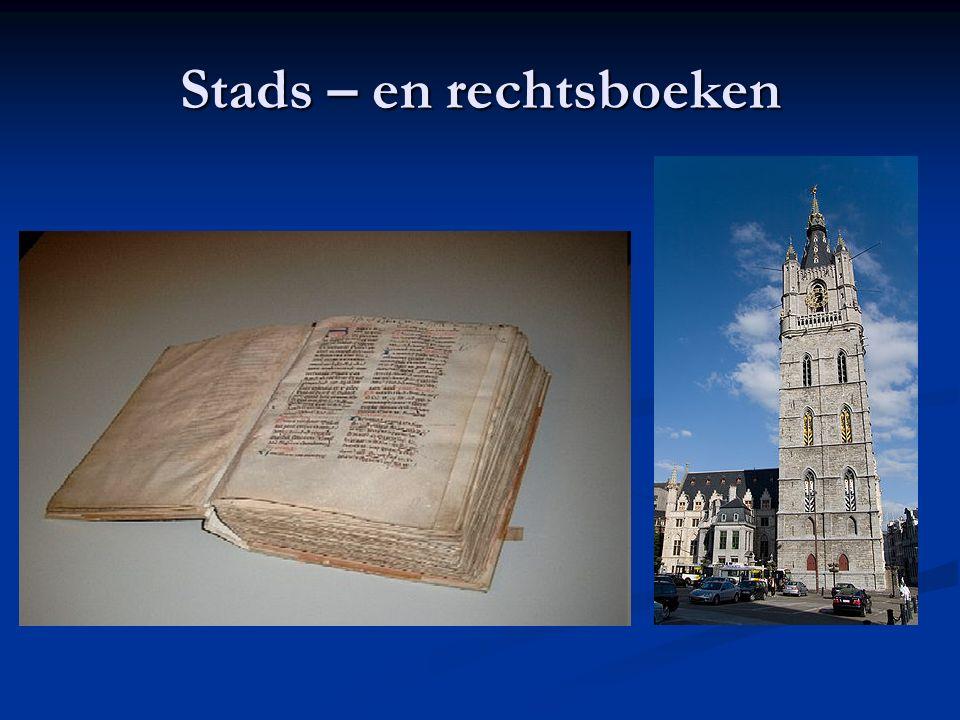 Stads – en rechtsboeken