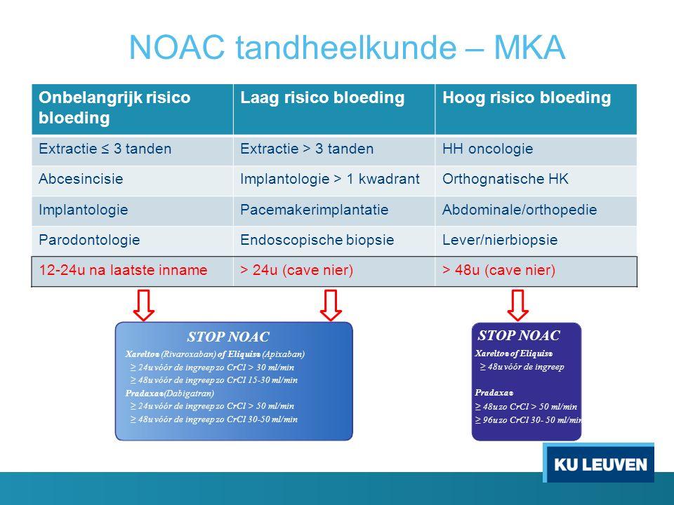 NOAC tandheelkunde – MKA