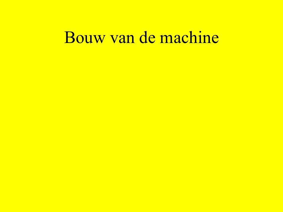 Bouw van de machine