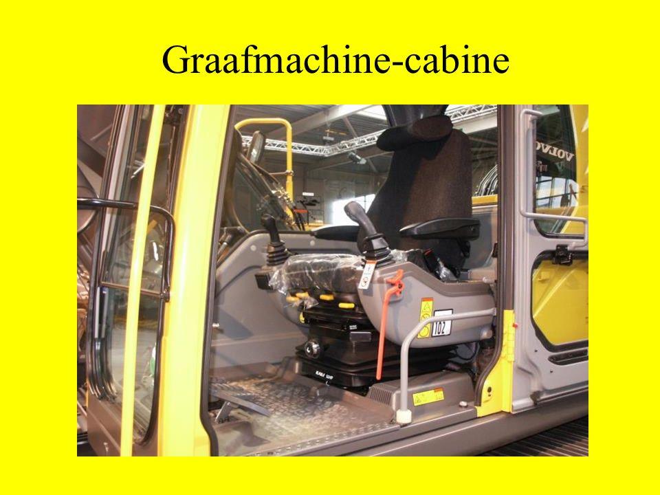 Graafmachine-cabine