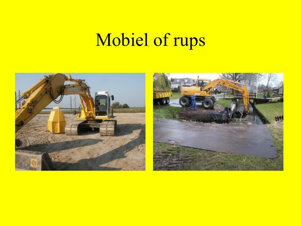 Mobiel of rups
