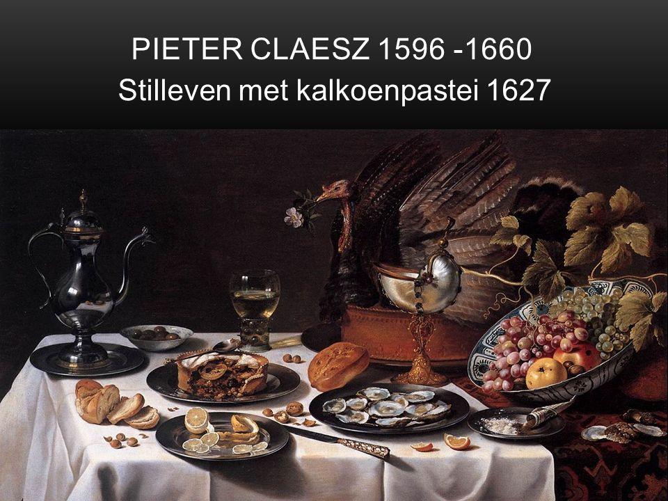 Stilleven met kalkoenpastei 1627