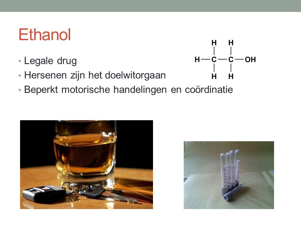Ethanol Legale drug Hersenen zijn het doelwitorgaan