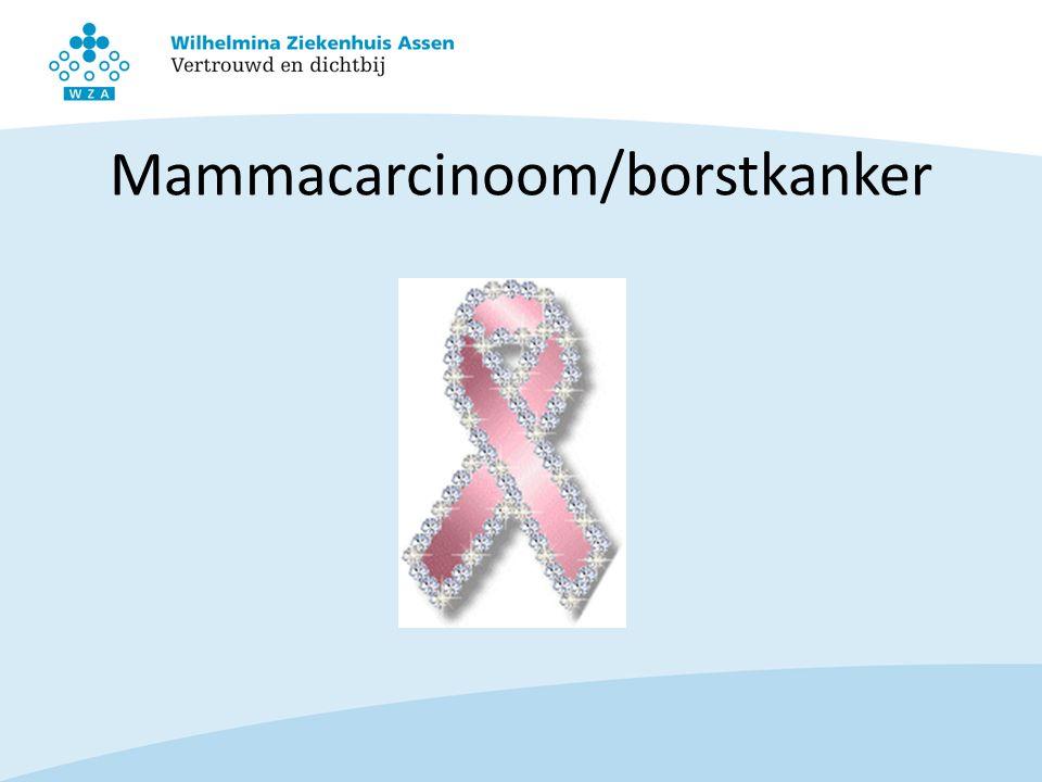 Mammacarcinoom/borstkanker