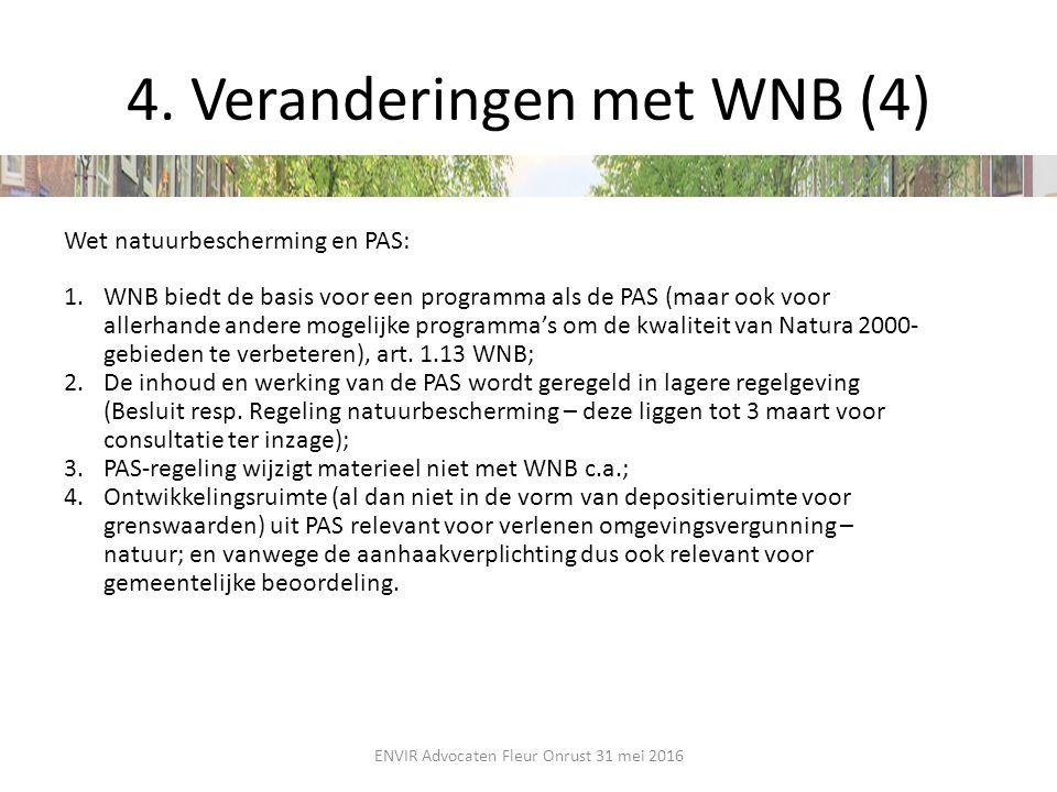 4. Veranderingen met WNB (4)