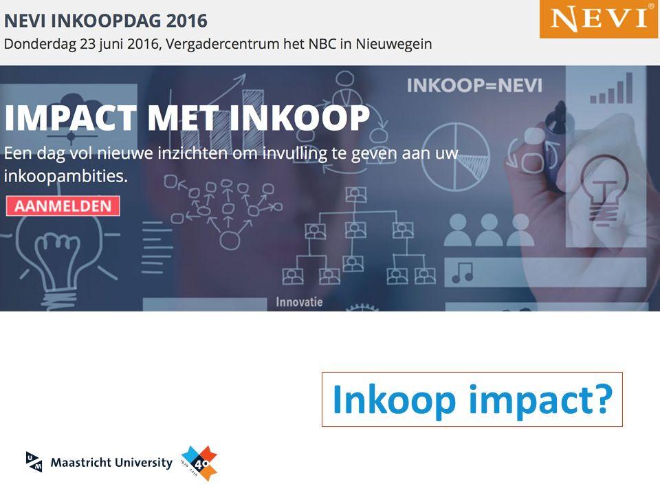 Inkoop impact