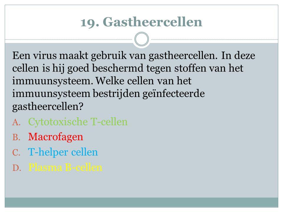 19. Gastheercellen
