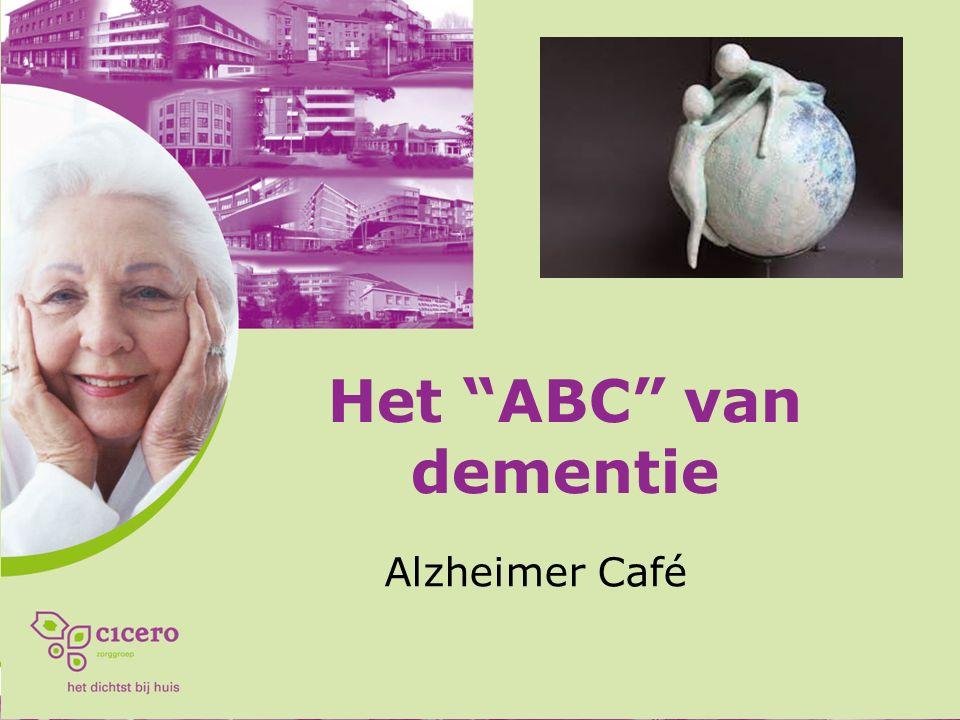 Het ABC van dementie Alzheimer Café
