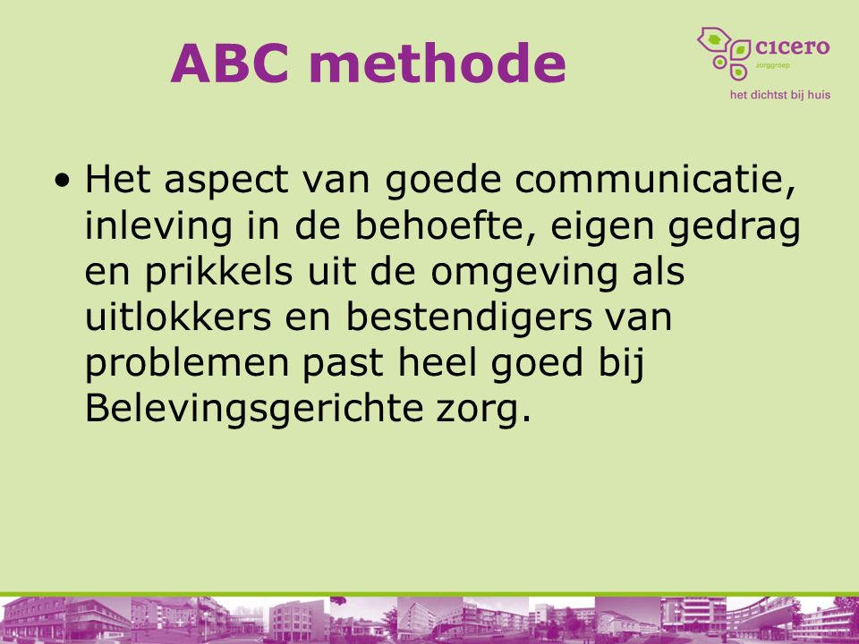ABC methode
