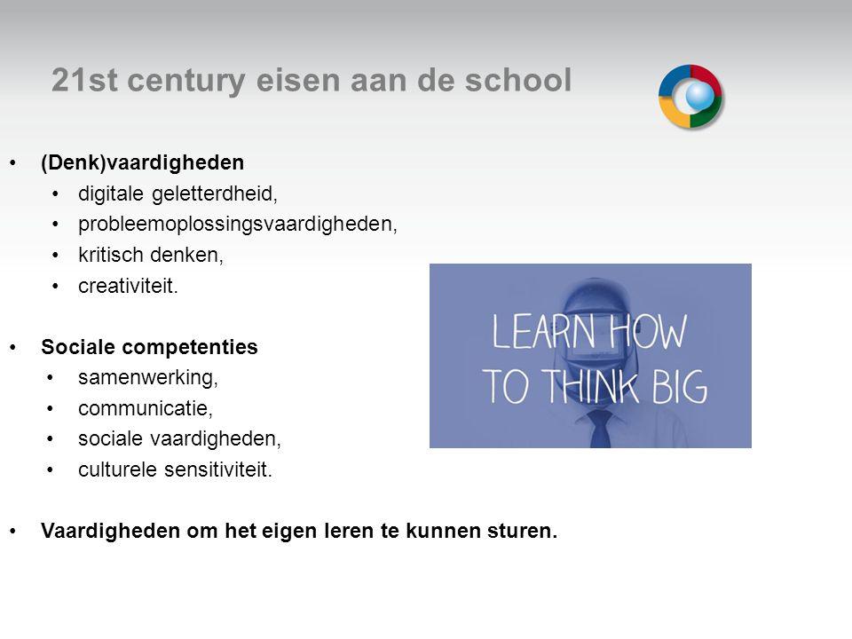 21st century eisen aan de school