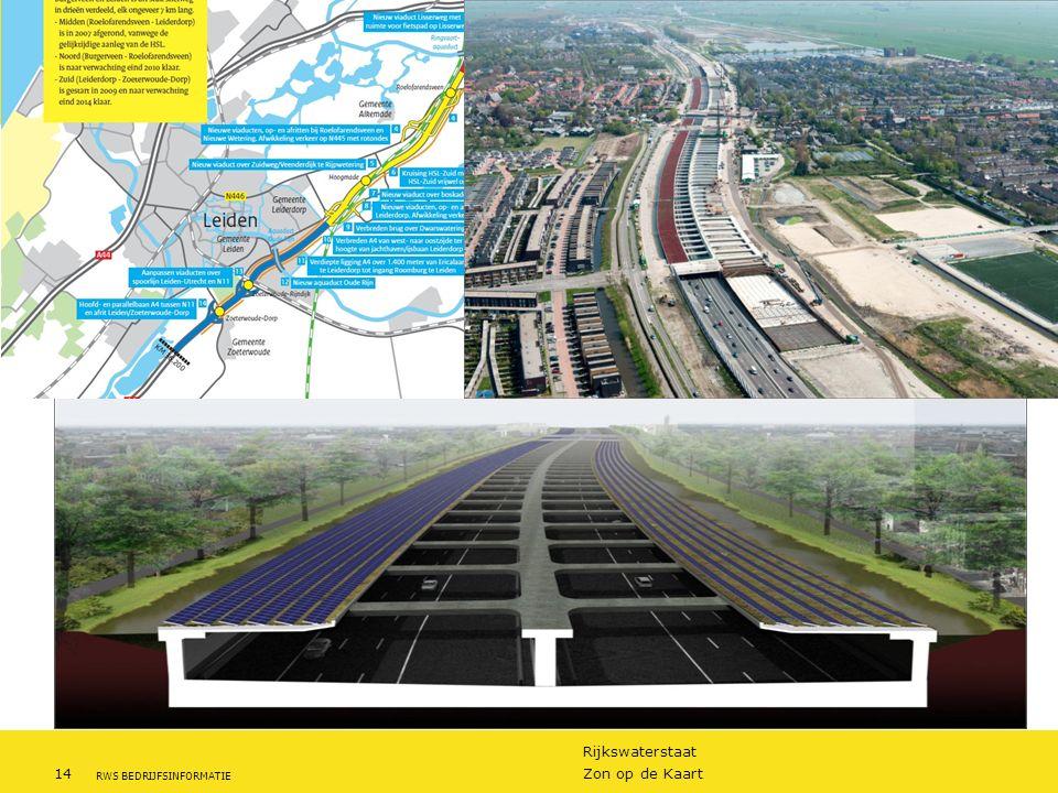 A4 verdieps tracé, zonnepanelen door bouwcombinatie
