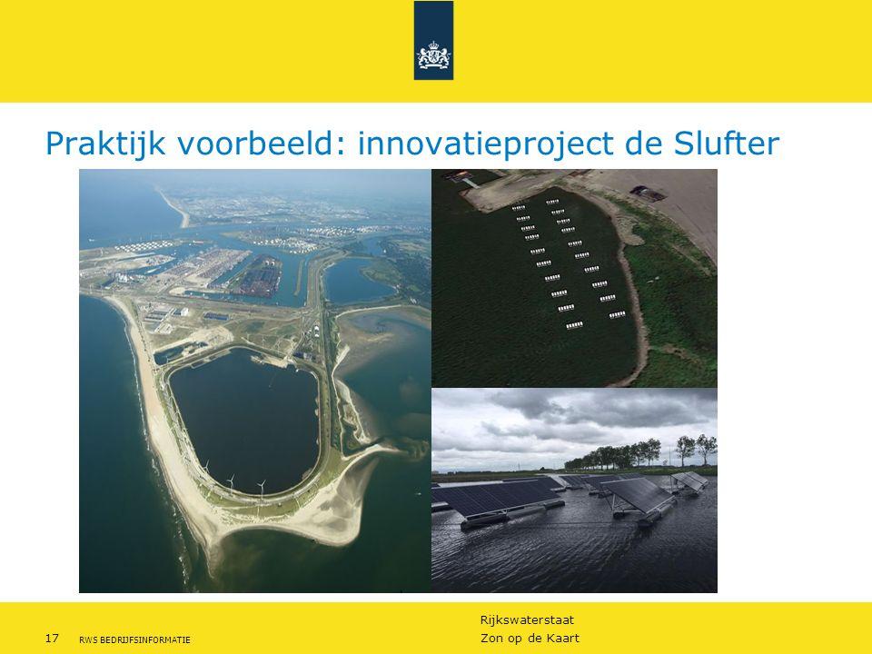 Praktijk voorbeeld: innovatieproject de Slufter