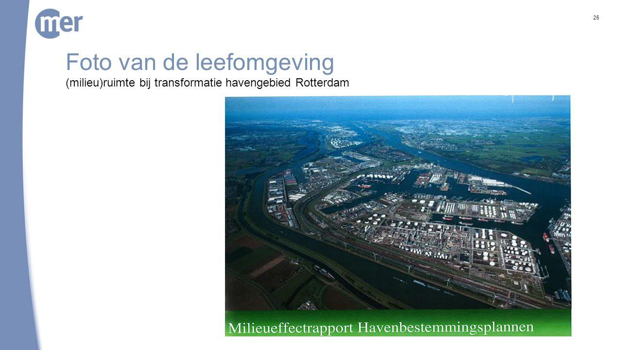 Haven Rotterdam: milieu(gebruiks)ruimte