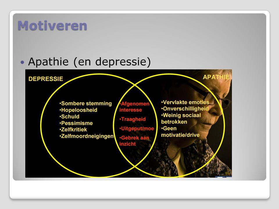 Motiveren Apathie (en depressie)