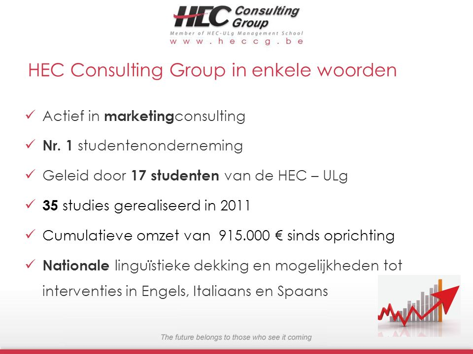 HEC Consulting Group in enkele woorden