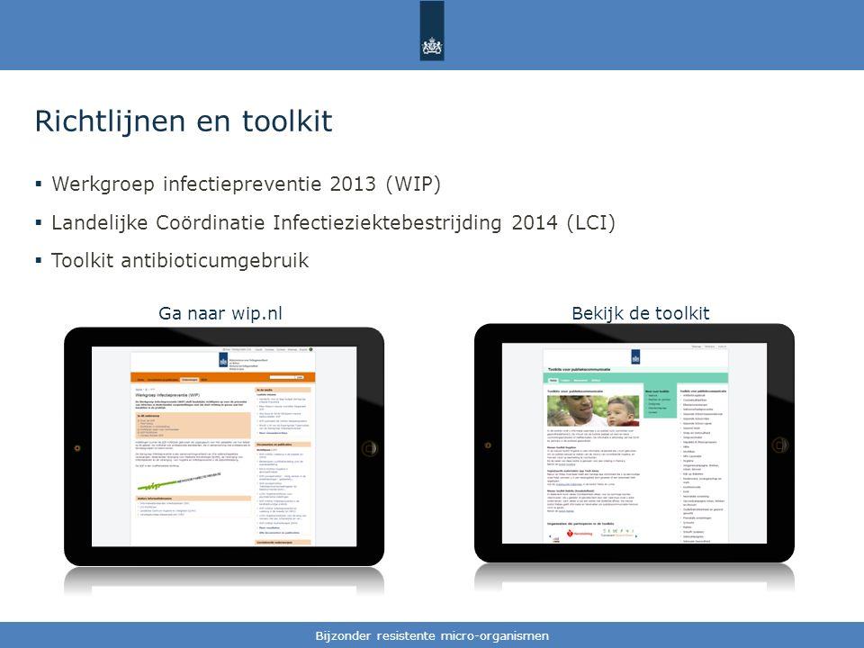 Richtlijnen en toolkit