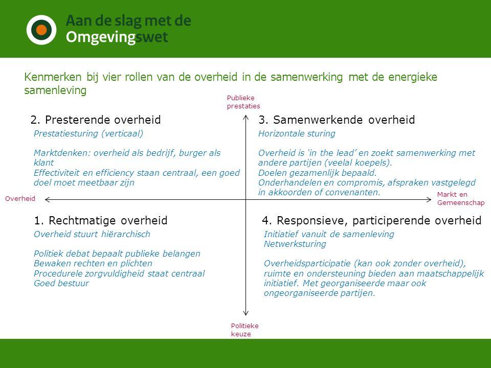 3. Samenwerkende overheid