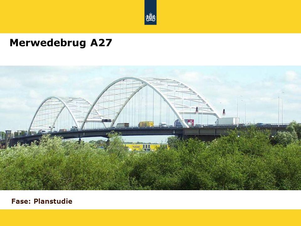 Merwedebrug A27 Fase: Planstudie 19
