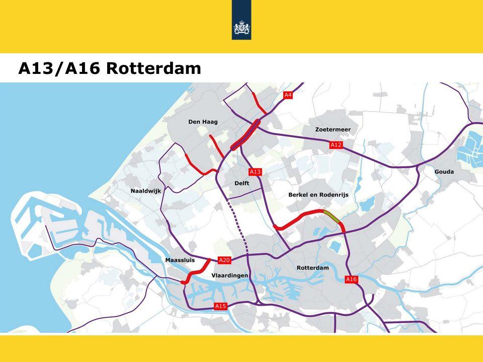A13/A16 Rotterdam Bedoeling om samen met omgeving de uiteindelijke ambitie te bepalen. 22