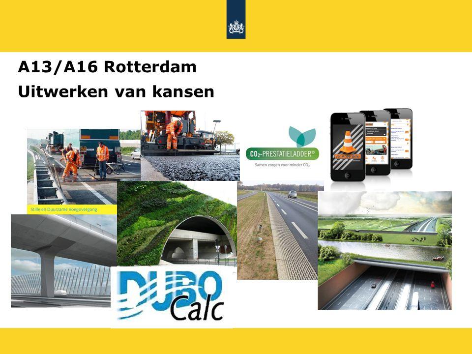 A13/A16 Rotterdam Uitwerken van kansen