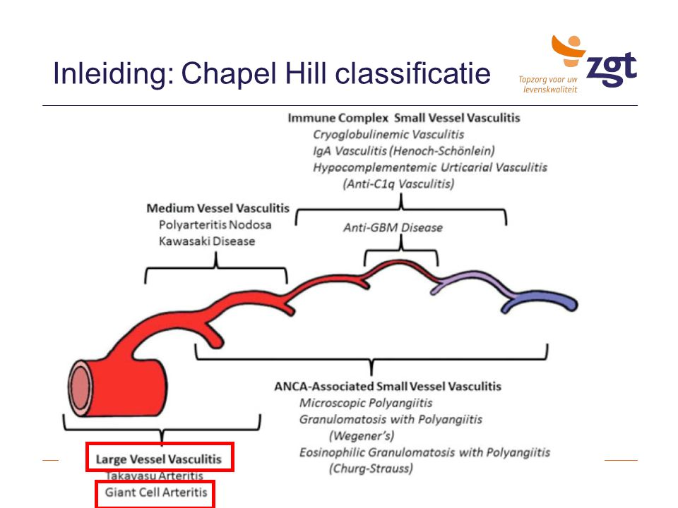 Inleiding: Chapel Hill classificatie