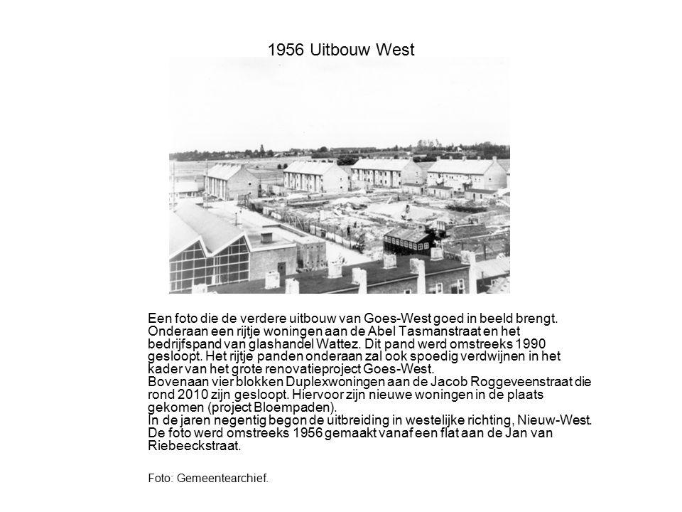 1956 Uitbouw West