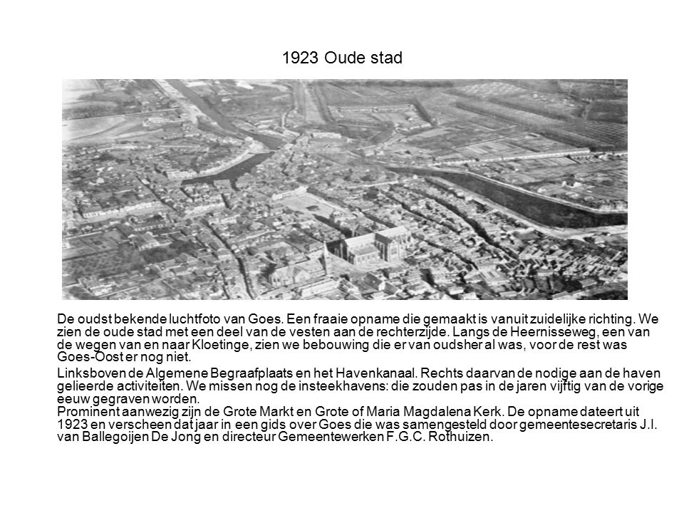 1923 Oude stad