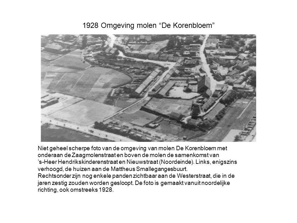 1928 Omgeving molen De Korenbloem