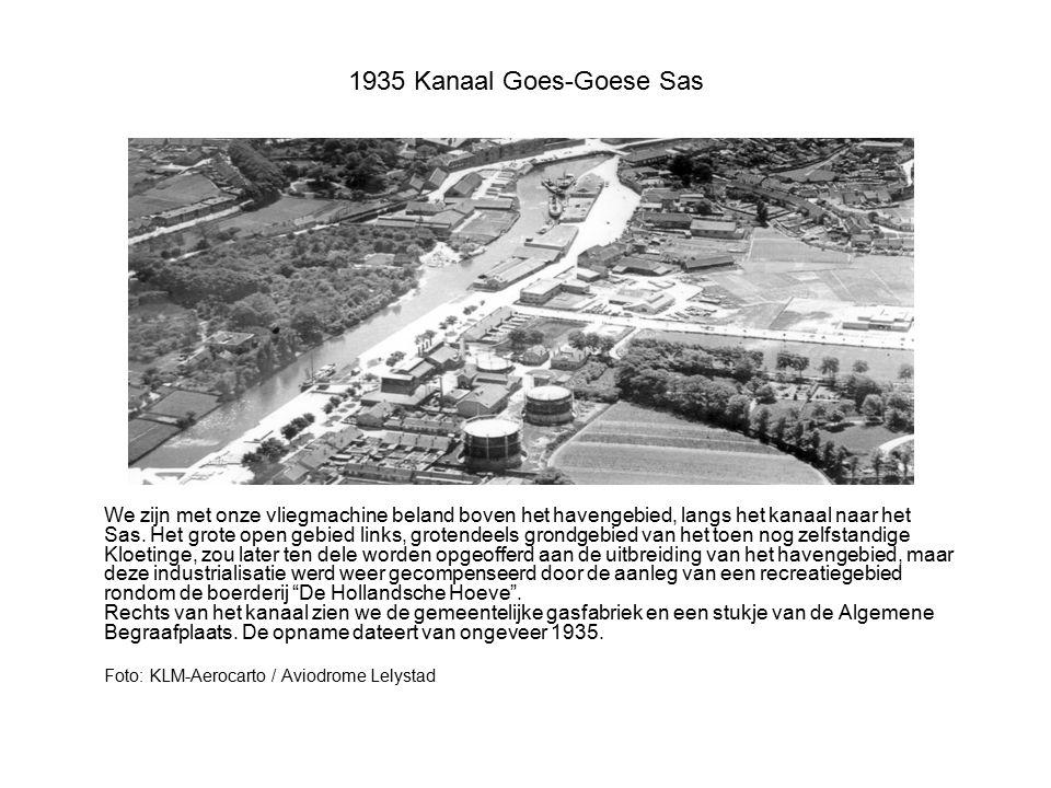 1935 Kanaal Goes-Goese Sas