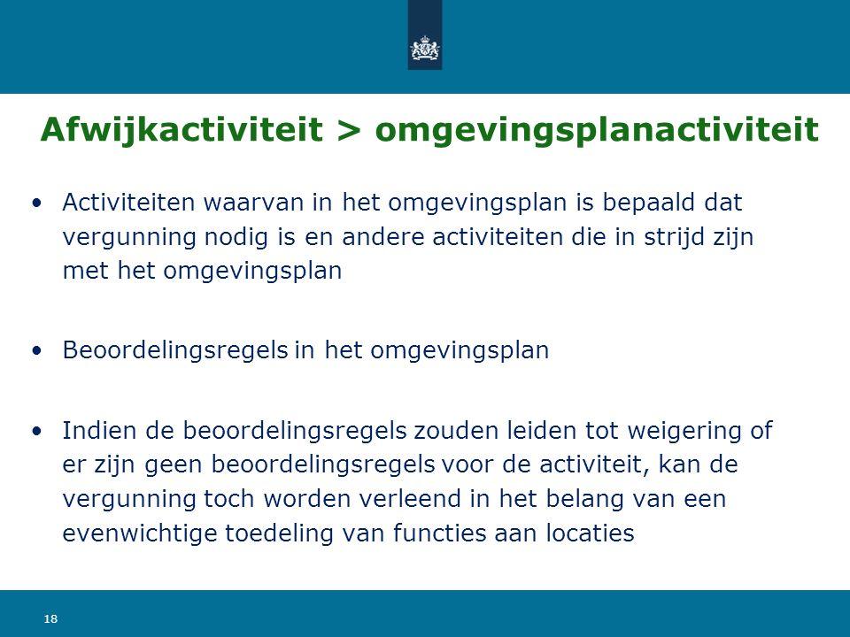 Afwijkactiviteit > omgevingsplanactiviteit