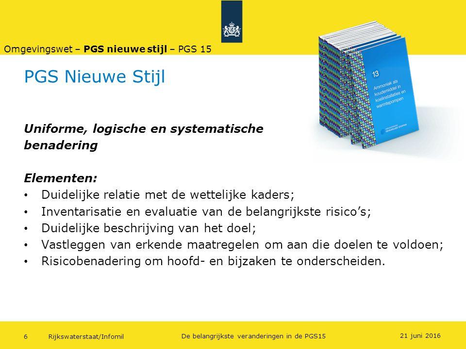 PGS Nieuwe Stijl Uniforme, logische en systematische benadering