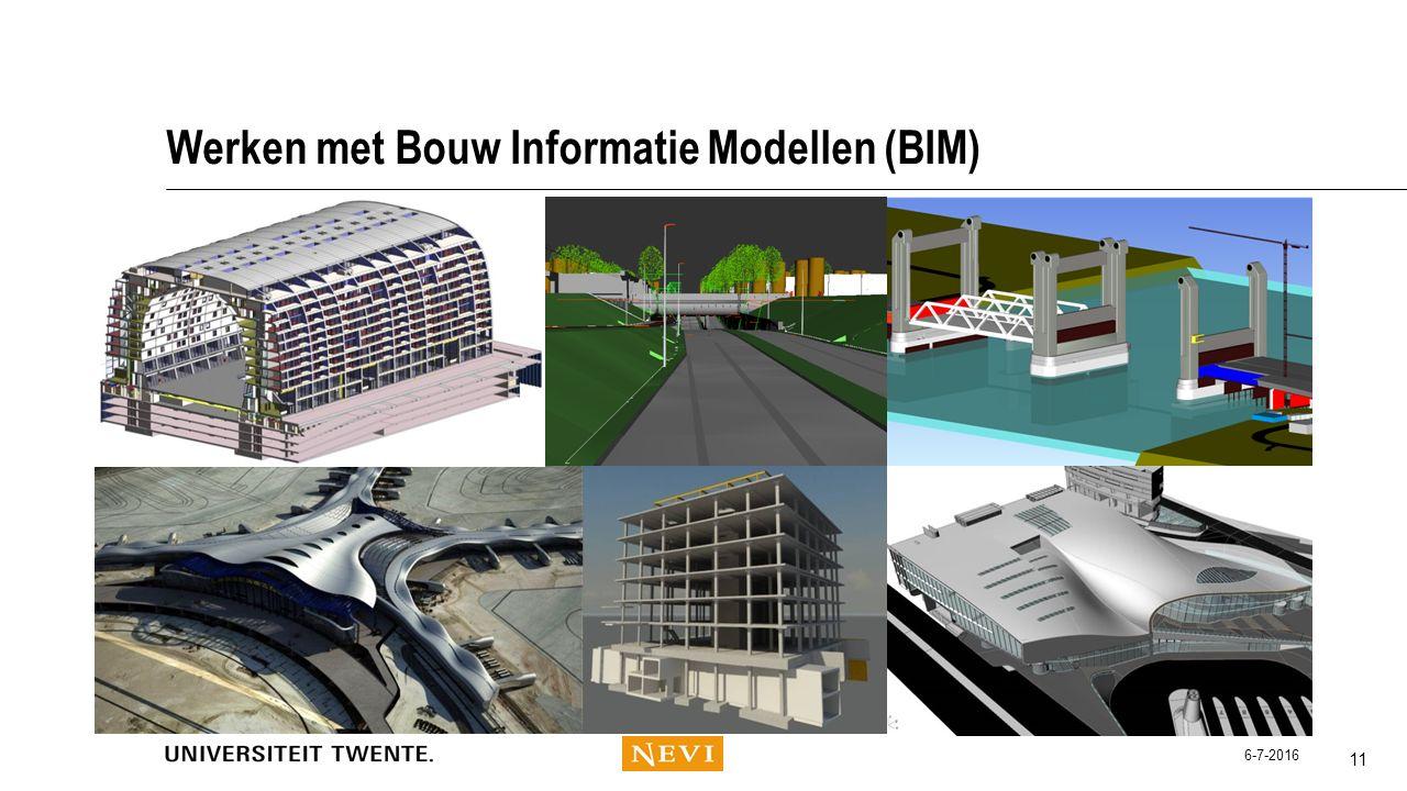 Werken met Bouw Informatie Modellen (BIM)