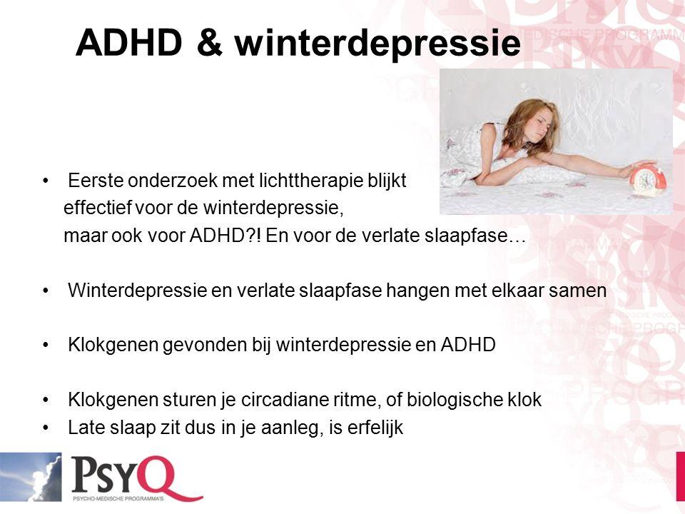 ADHD & winterdepressie