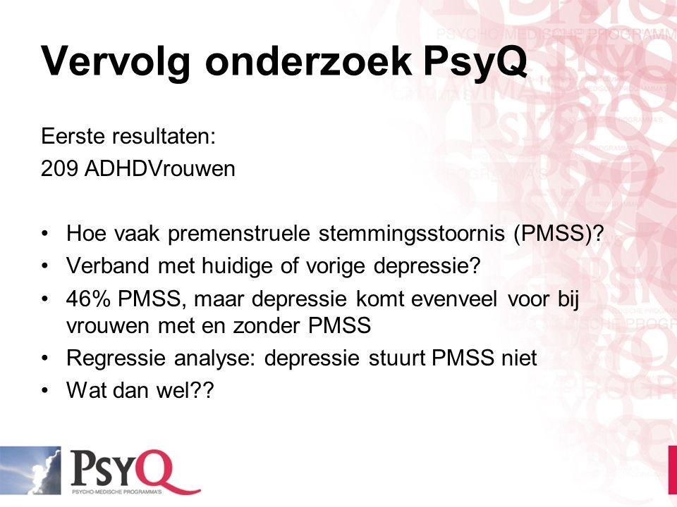 Vervolg onderzoek PsyQ