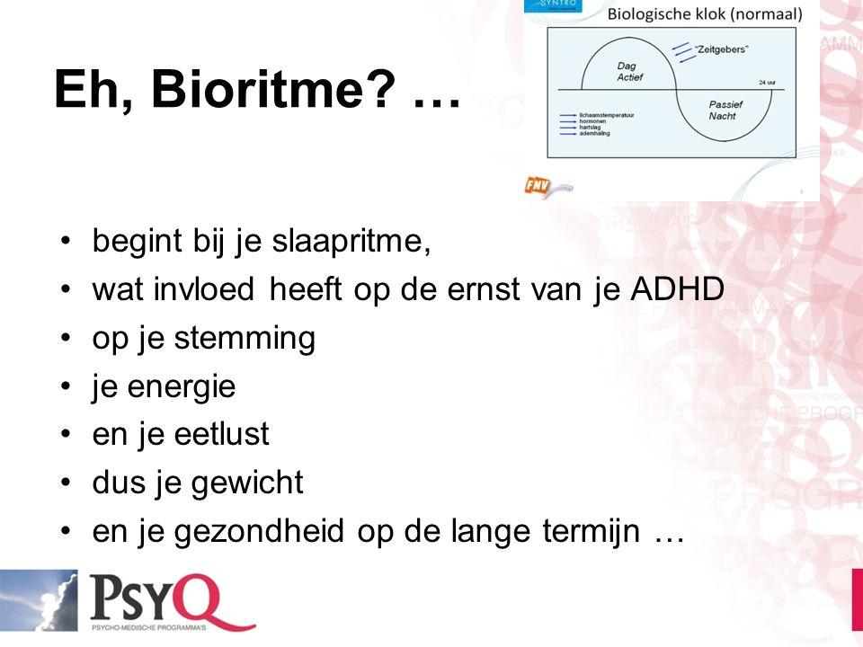 Eh, Bioritme … begint bij je slaapritme,