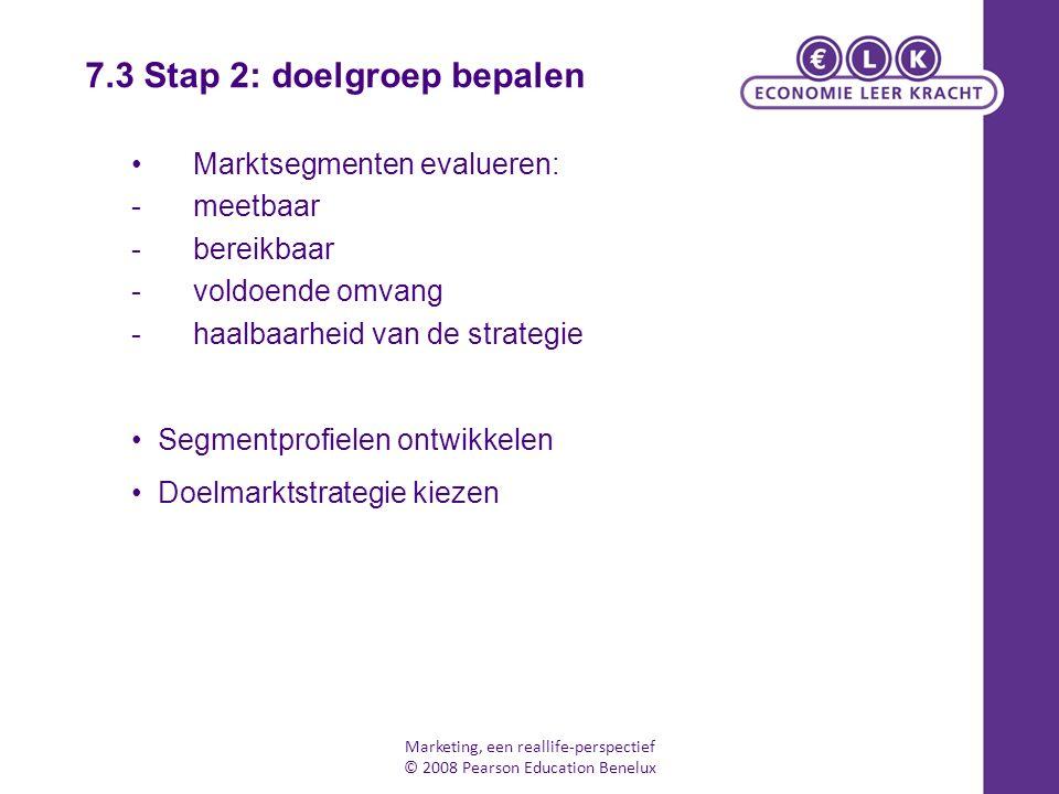 7.3 Stap 2: doelgroep bepalen