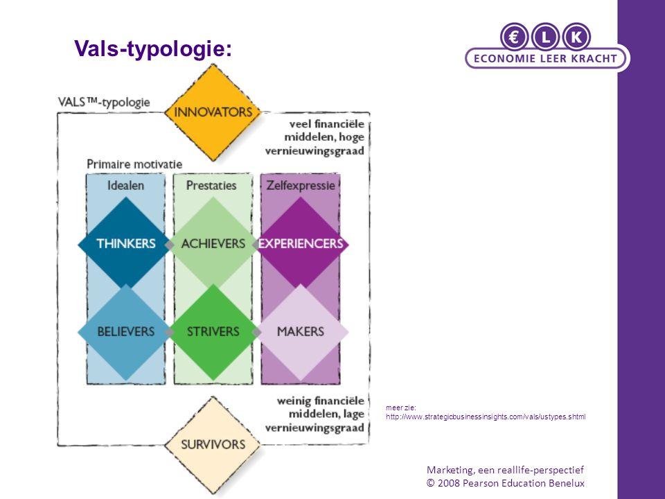Vals-typologie: Marketing, een reallife-perspectief