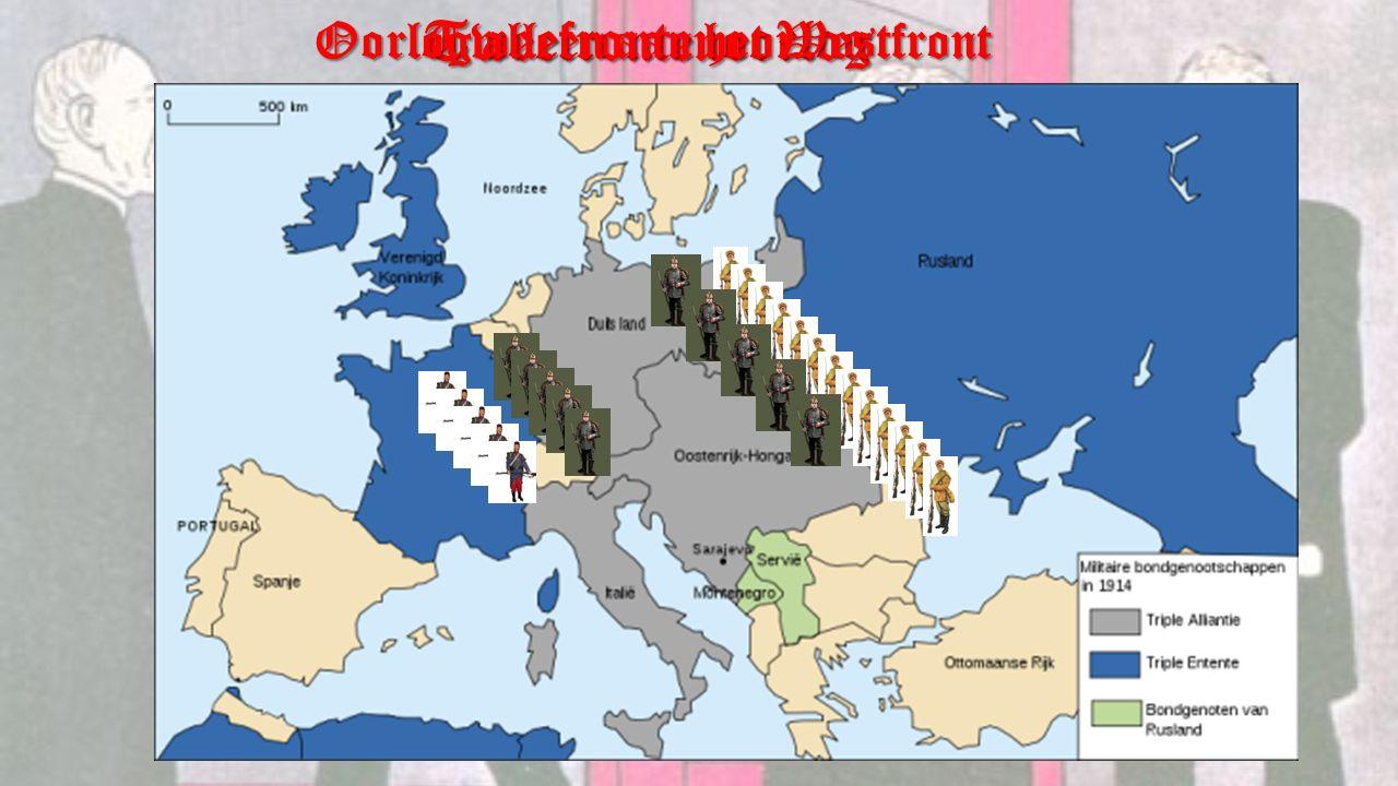 Oorlog alleen aan het Westfront