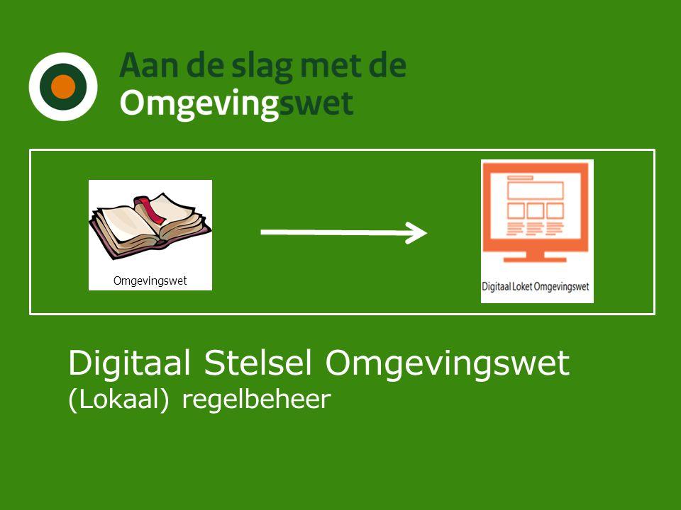 Digitaal Stelsel Omgevingswet